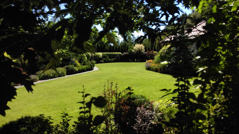 widoka na ogród