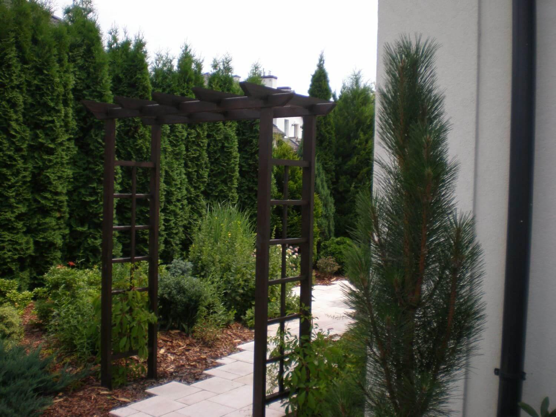 drewniana pergola ogrodowa