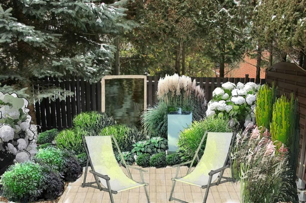 archiflora wizualizacja ogrodu
