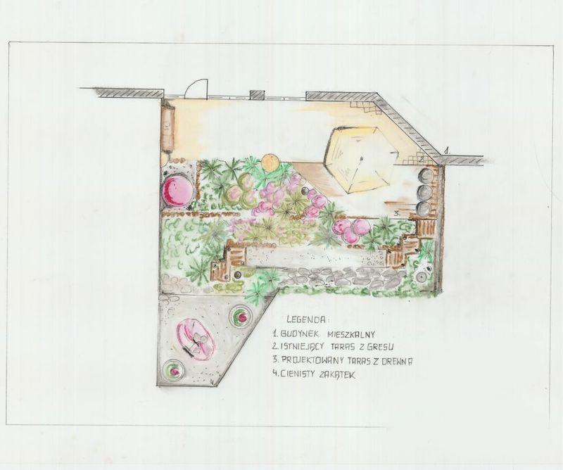 archiflora-taras-projekt